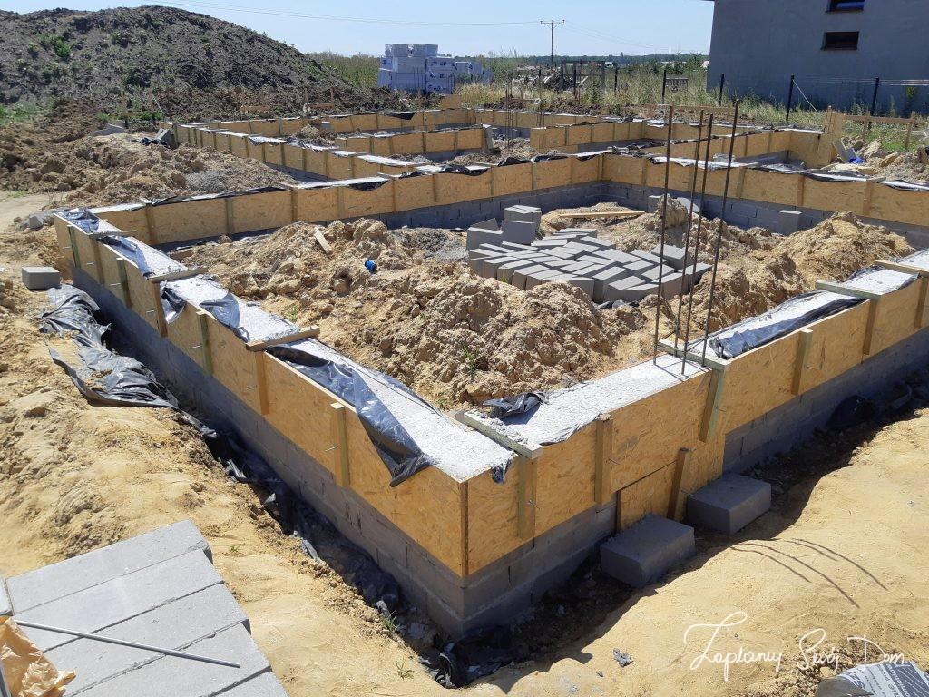 Koszt fundamentów - konstrukcja