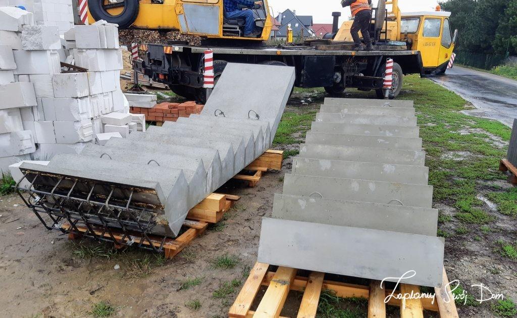 Gotowe do montażu schody betonowe prefabrykowane