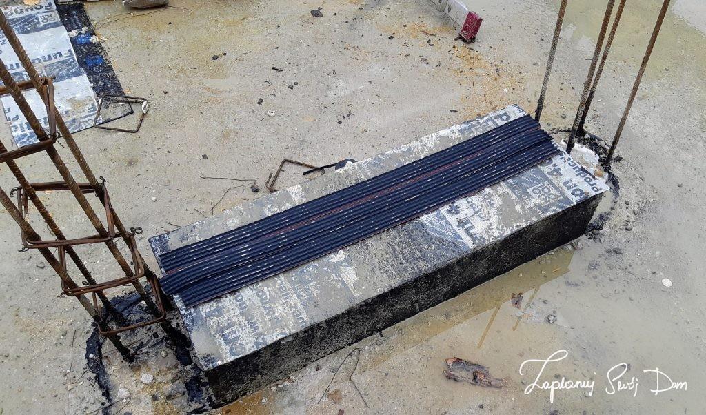 Podkładki wyciszające do schodów betonowych prefabrykowanych